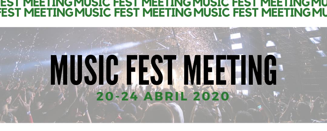 Última jornada do Music Fest Meeting