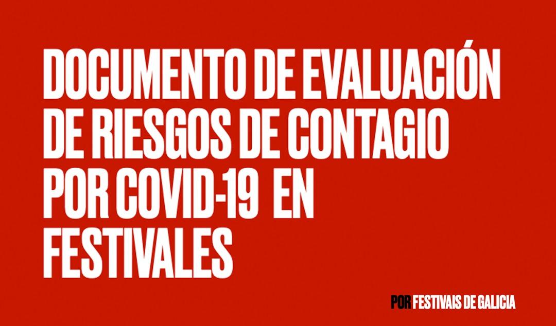 Festivais de Galicia publica un documento de riscos de contaxio por COVID-19 en Festivais