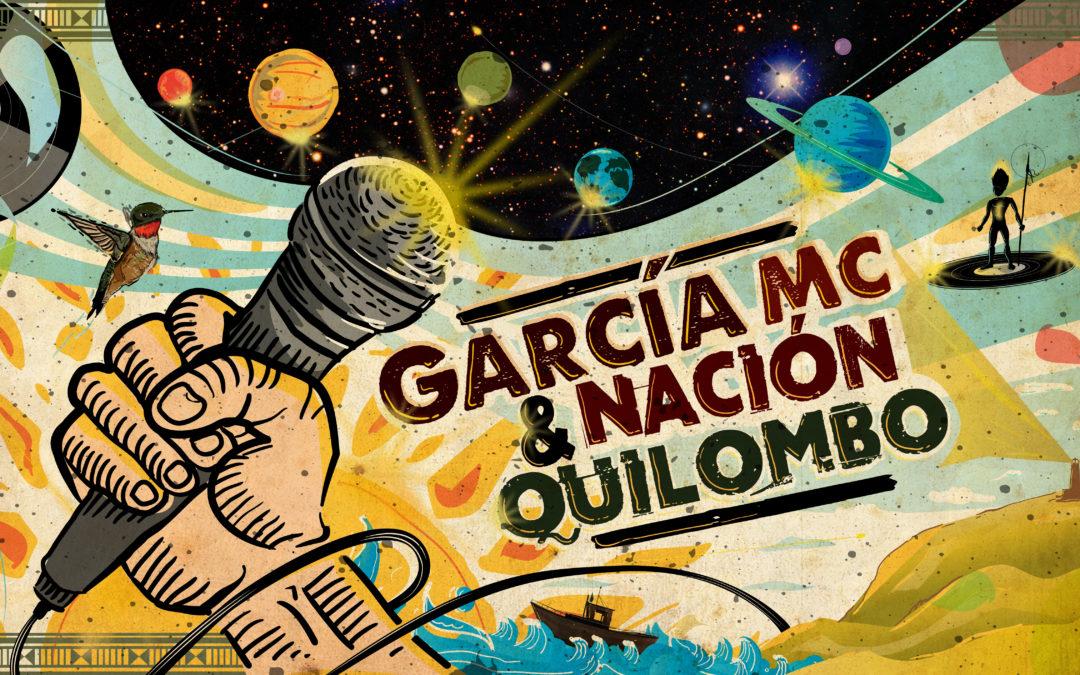 García Mc & Nación Quilombo presenta nova banda