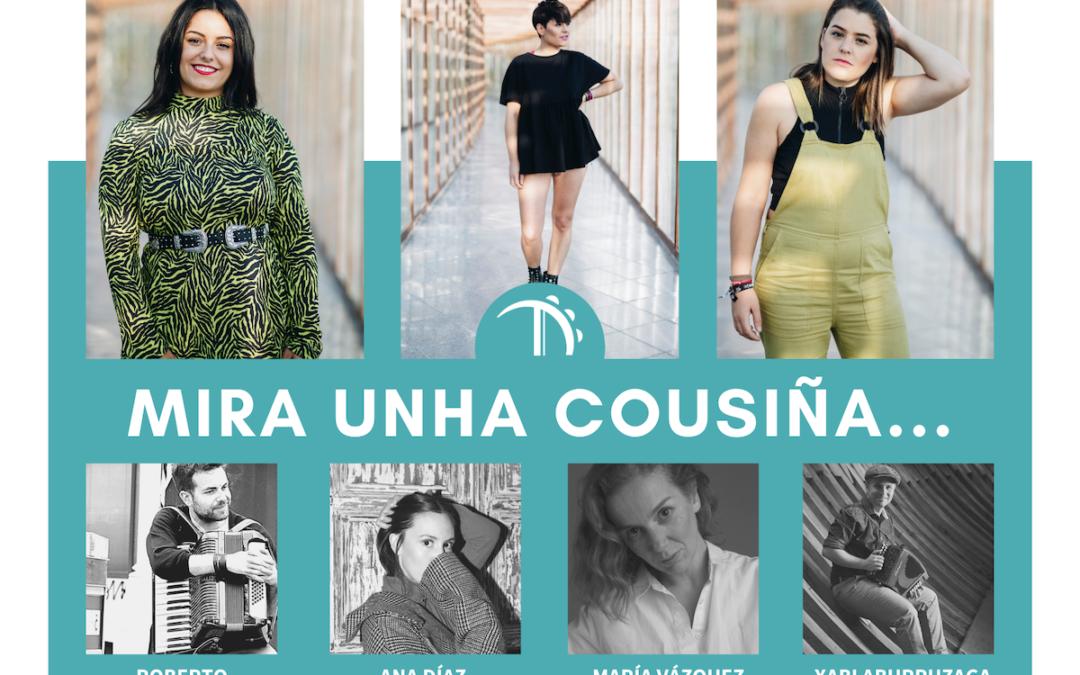 Tanxugueiras prepara o seu regreso ás táboas con conversas virtuais con Xabi Aburruzaga, Ana Díaz, O Reberete e María Vázquez