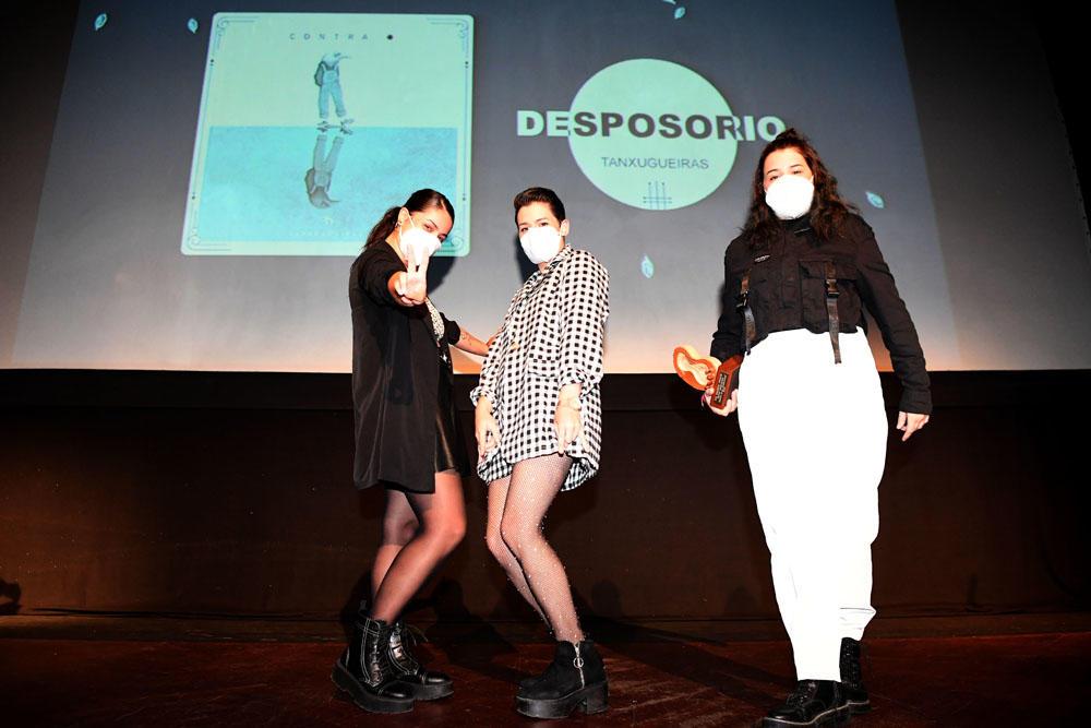 Tanxugueiras gaña con 'Desposorio' o galardón á mellor adaptación dunha peza tradicional nos Premios Opinión  de Música de Raíz